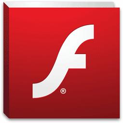 これがAdobe Flash Playerのロゴだ。パソコンでインターネットを使ってるなら一度は見たことあるだろう。