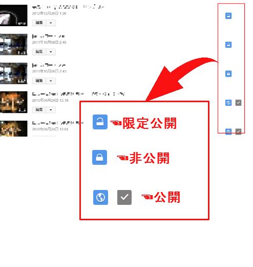 YouTubeにアップした動画の限定公開設定方法&確認方法5